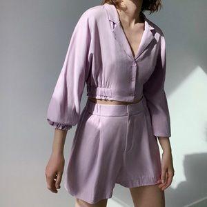 NWT Zara flowy shorts trf